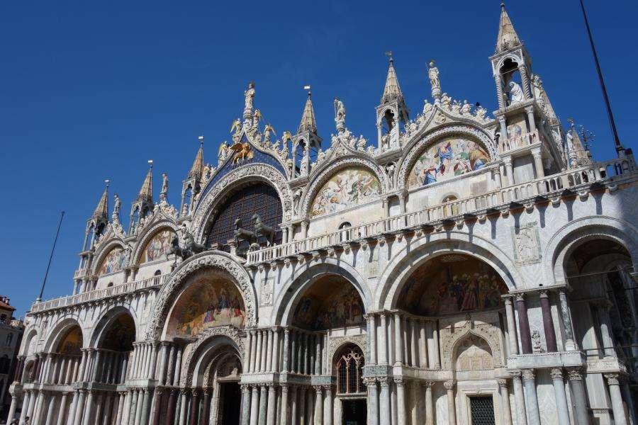 Basilica di San Marco la facciata