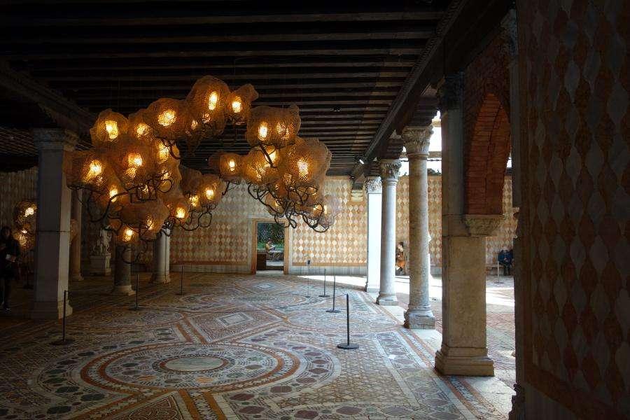 Ca' d'Oro Venezia pavimenti marmorei