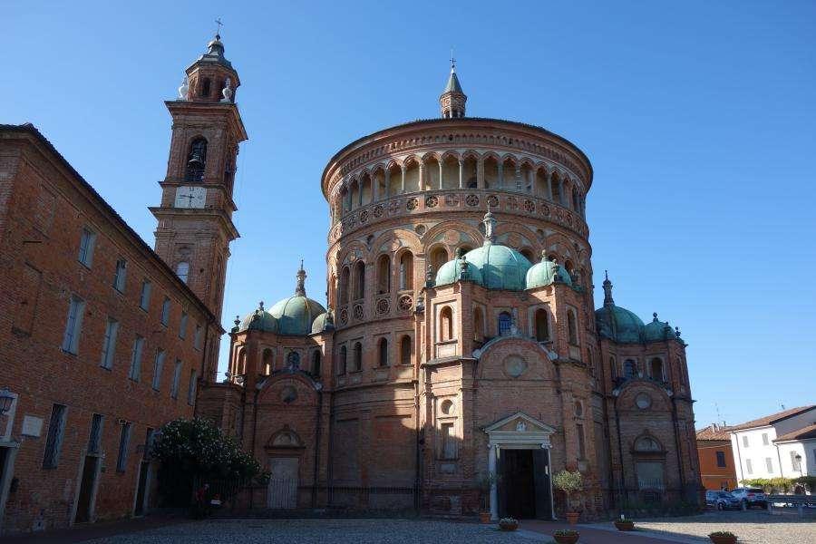 Crema abbazia di santa Maria della Croce