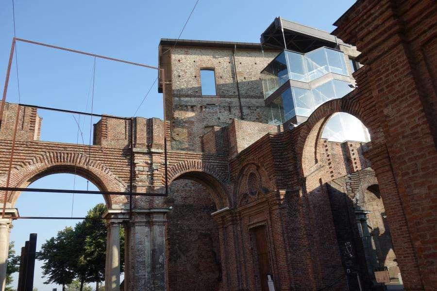 Castello di Rivoli in Piemonte