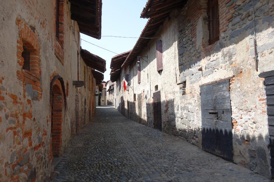 Ricetto del Candelo in Piemonte