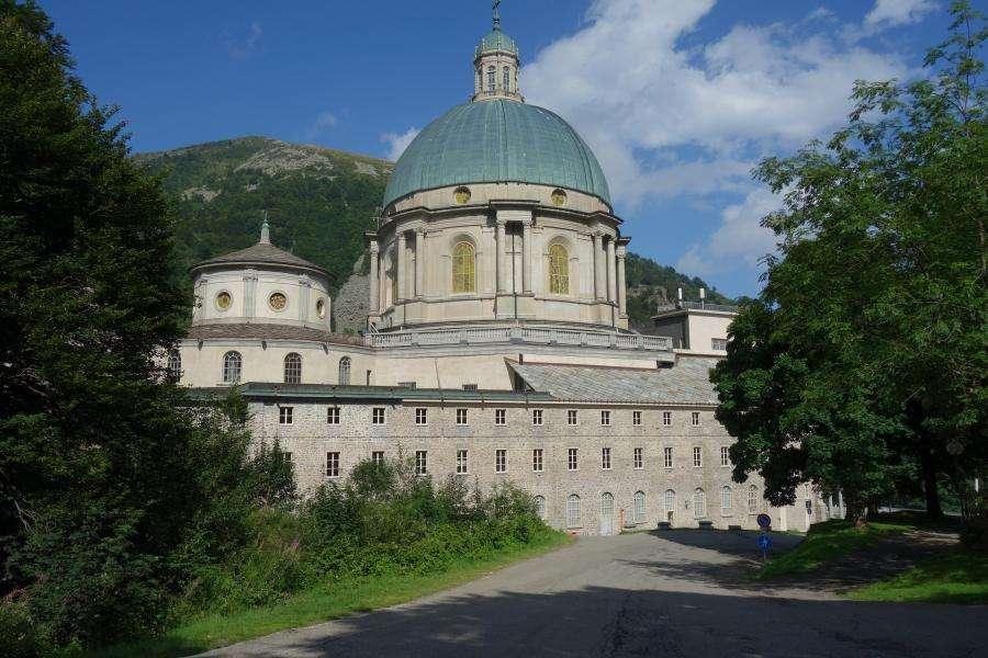 Santuario di Oropa in Piemonte