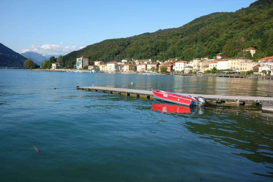 Lago di Lugano a Porto Ceresio